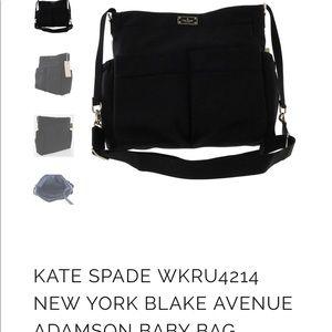 EUC Kate Spade Diaper Bag